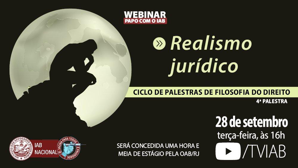 Ciclo de Palestras de Filosofia do Direito - 4ª Palestra
