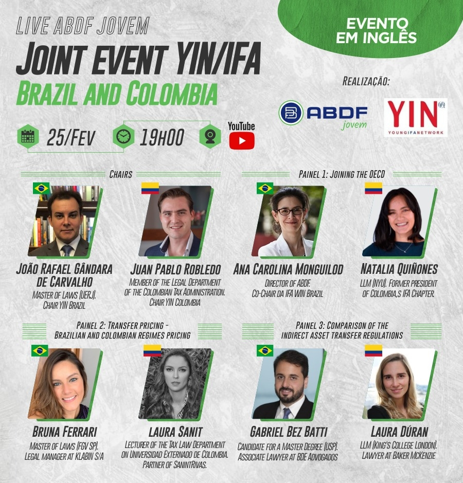 [ABDF] Joint event YIN/IFA – Brazil and Colombia